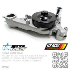 US MOTOR WORKS WATER PUMP V8 GEN IV LS3 6.2L [HOLDEN VF COMMODORE & WN CAPRICE]