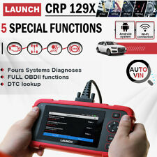 LAUNCH CRP129X OBD2 Code Reader Diagnostic Scanner Transmission ABS SRS Airbag