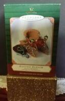 Hallmark Keepsake 2001 Santa's Sleigh Set of 2 Ornaments Handcrafted