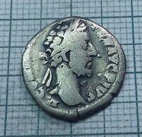 Original Ancient ROMAN SILVER COIN denarius Commodus / Commod  138-161 AD. #0180