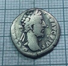 Original Ancient ROMAN SILVER COIN denarius Commodus / Commod  138-161 AD. #0180