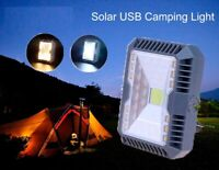 portable outdoor led camping light 3 mode solar USB camping tent light lantern