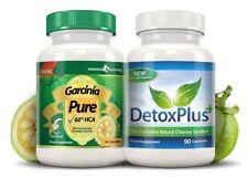 Garcinia Pur Côlon Détox Nettoyer Paquet Approvisionnement de 1 Mois Evolution