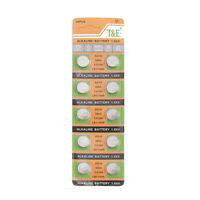 10PCS PILE AG10 LR1130 389 LR54 1.55V Button Coin Cell Alkaline Batteries Suncom