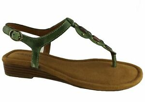 Natural Soul By Naturalizer Rolla Womens Leather Sandals - ShopShoesAU