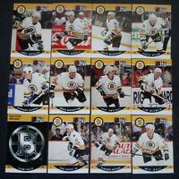 1990-91 Pro Set Series 2 Boston Bruins Team Set of 13 Hockey Cards