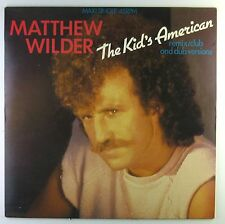 "12"" Maxi - Matthew Wilder - The Kid's American - C1083 - washed & cleaned"
