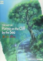THE ART OF Ponyo on the Cliff Studio Ghibli the art series Miyazaki Hayao Book