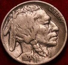 1921 Philadelphia Mint Buffalo Nickel