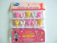 Disney Minnie Mouse Food Picks Japanese Bento Accessories/10pcs