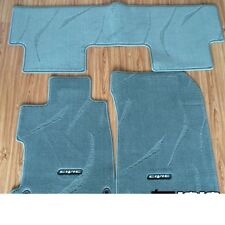 GENUINE OEM SPORT LHD GREY FLOOR MATS CARPETS FOR CIVIC SEDAN FB 2012-2015