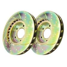 Disc Brake Rotor-EBC 3GD Series Sport Slotted Front fits 58-61 Jaguar XK150 Set