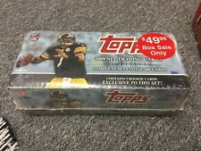 ** 2009 Topps Football Factory Sealed 440 Card Complete Set Bonus Rookie Pack
