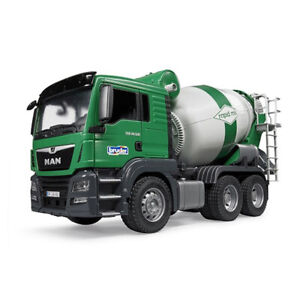 Bruder 1:16 53cm Man TGS Construction/Cement Mixer Truck Vehicle Kids Toys 4y+