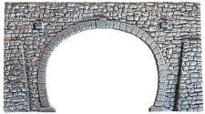 NOCH 34938 N Gauge, Tunnel Portal, 2-track, 6 5/16x3 1/2in   in
