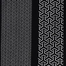 Happi Geometric Pattern, 105 cm lang, japanischer Kurzkimono, Universalgröße
