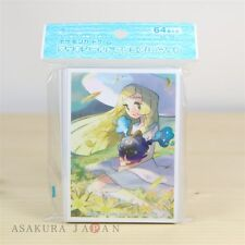 Pokemon Card Game Sleeve Lillie & Cosmog Premium mat ver. 64 sleeves Sun Moon