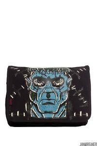 Jawbreaker Womens Frankenstein Messenger Bag  Alternative Gothic