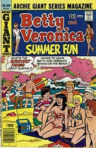 Archie Giant Series Magazine No 460 Very Fine Minus High Grade Archie 1977