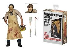 """Texas Chainsaw Massacre Leatherface re-issue 7"""" Acción Figura Neca Horror"""