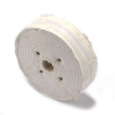 6inch White Cloth Buffing Wheel Polishing Disc for Fine Metal 150x40x25mm