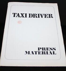 ORIGINAL taxi driver Jodie foster PRESS KIT FOLDER, PHOTOS, PRODUCTION INFO