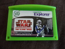LEAP FROG LEAPSTER LEAP PAD EXPLORER GAME STAR WARS CLONE WARS AGES 6-9 YR