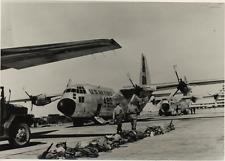C-130B  C-130B  Tirage argentique  12x17  Circa 1962