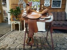 Crates 15 inch Fqhb Western Show Equitation Trail Saddle