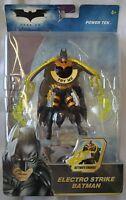 NEW Batman Action Figure Electro Strike COLLECT 4+ Mattel Dark KNIGHT Power TEK