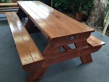 Timber Outdoor Setting Picnic Table Brand New 2.4 Metres