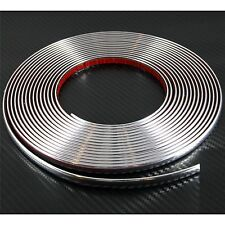 (0.9cm) 9mm x 2m CHROME CAR STYLING MOULDING STRIP For VW Polo MK5 6R