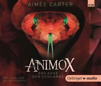 AIMEE CARTER - ANIMOX.DAS AUGE DER SCHLANGE (2)  4 CD NEW