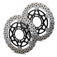 Steel Brake Disc Rotor Pair for Kawasaki VERSYS650/1000,ZX10R,Z750/1000 SX ABS