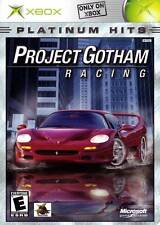 Microsoft XBOX Project Gotham Racing (PLATINUM HITS VERSION & COMPLETE)