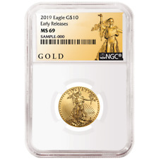 2019 $10 American Gold Eagle 1/4 oz. NGC MS69 ALS ER Label