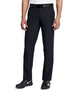 Mens Size 34x32 Nike Golf Hybrid Pants Black Flex 921751-010
