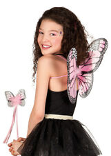 Baby Pink Cute Butterfly Wings and Wand