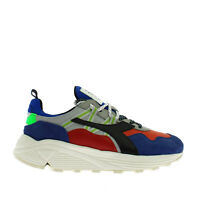 Diadora Heritage Rave Leather Pop Sneaker Uomo 201.175154 60032 Blu Notte