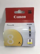 Genuine Canon CLI-8Y Ink Cartridge (Free Shipping!)