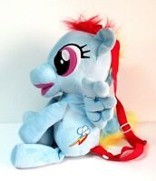 "Rainbow Dash 18"" Plush Backpack Bioworld My Little Pony MLP Friendship is Magic"