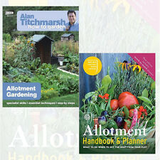 RHS Allotment Handbook &Planner 2 Books Collection Alan Titchmarsh How to Garden