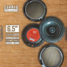 CT Sounds Strato 6.5 Inch 2 Way Coax Car Audio Coaxial Speakers Pair + Grilles