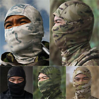 Balaclava Tactical Military Facemask Outdoor Neck Thermal Warmer Headwear Helmet