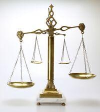 Balance Ancienne  trébuchet H 50 cm L 35 cm