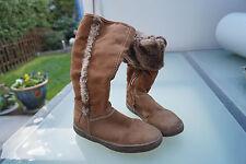s.Oliver Tex Kinder Mädchen Winter Schuhe Stiefel gefüttert Gr.32 braun #3k