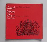 April 1967 Covent Garden Ballet Programme. La Fille Mal Gardee. Wayne Sleep