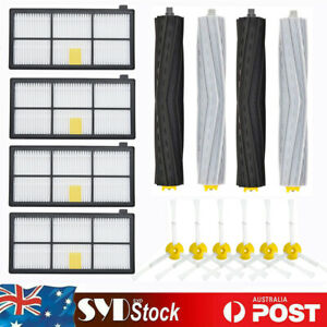 Side Brush HEPA Filter Extractor Parts Kit For iRobot Roomba 800 870 880 980 960