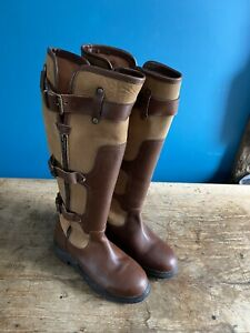 Ladies Kinpurnie Country Equestrian Boots Size 4