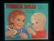 Paper Dolls Foreign Dolls to Cut Out & Dress by Queen Holden, Platt & Munk, 1958